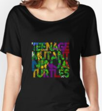 Ninja - Teenage Mutant Ninja Turtles Women's Relaxed Fit T-Shirt