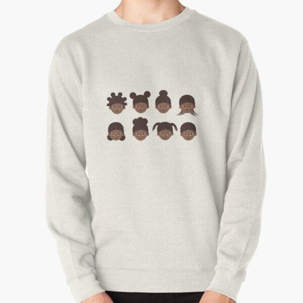 girl hairs Pullover Sweatshirt