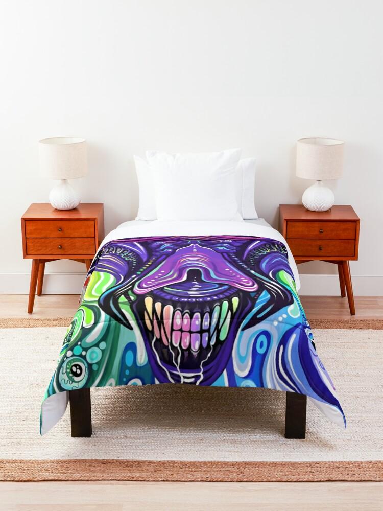Alternate view of Alien Queen Comforter
