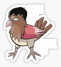 PokéPun - 'I Can Be Your Spearow, Baby' Sticker