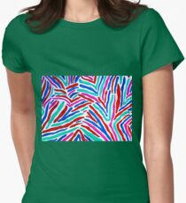 MULTICOLORED ZEBRA STRIPES T-Shirt