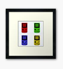 Gameboy Colour-Small Framed Print