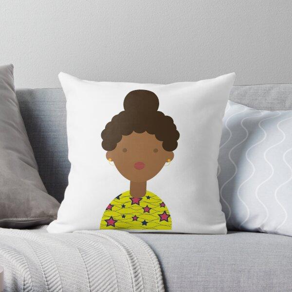 girl1 Throw Pillow