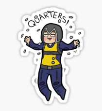 Quarters! Sticker