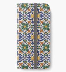 Portugal Azulejos MultiColoured iPhone Wallet/Case/Skin