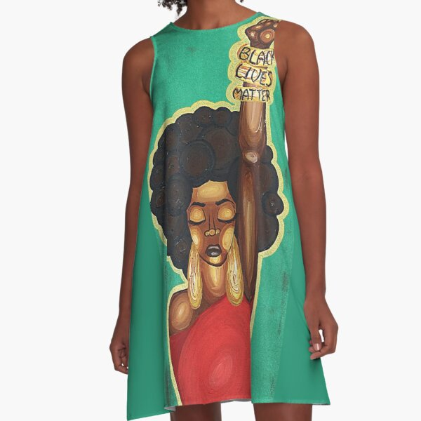 JUSTICE WANTED A-Line Dress
