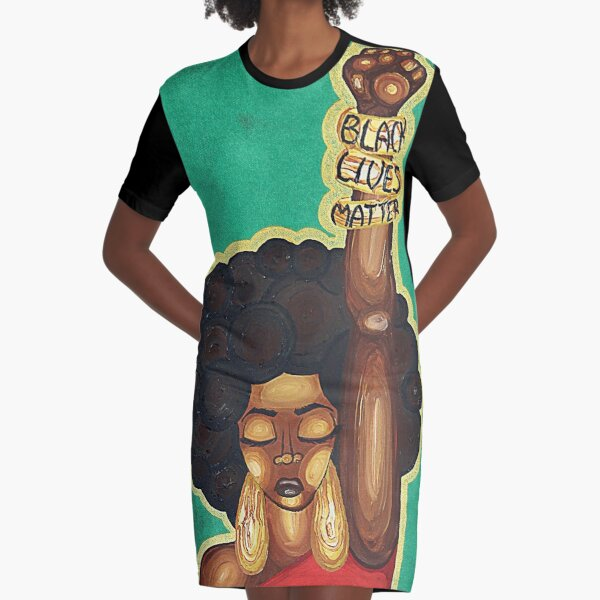 JUSTICE WANTED Graphic T-Shirt Dress