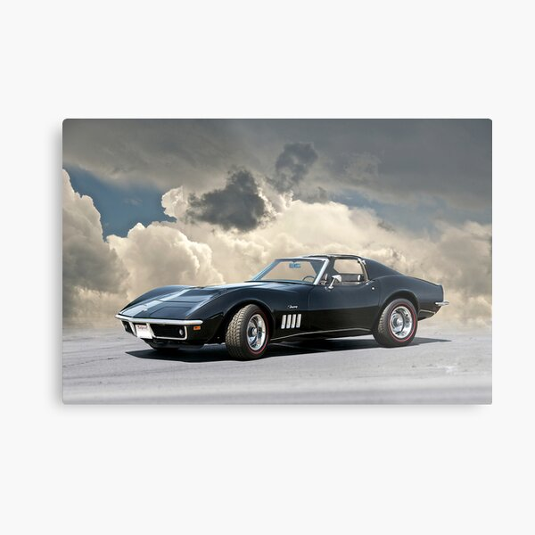 C3 Corvette Stingray Metal Print