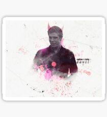 Robert Sugden | Red Devil Sticker