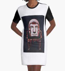 Chairface Graphic T-Shirt Dress