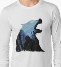 Jon Snow - King of The North Long Sleeve T-Shirt