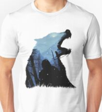 Jon Snow - König des Nordens Slim Fit T-Shirt