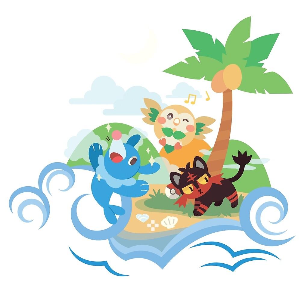 Poké Paradise  by Nintendowire