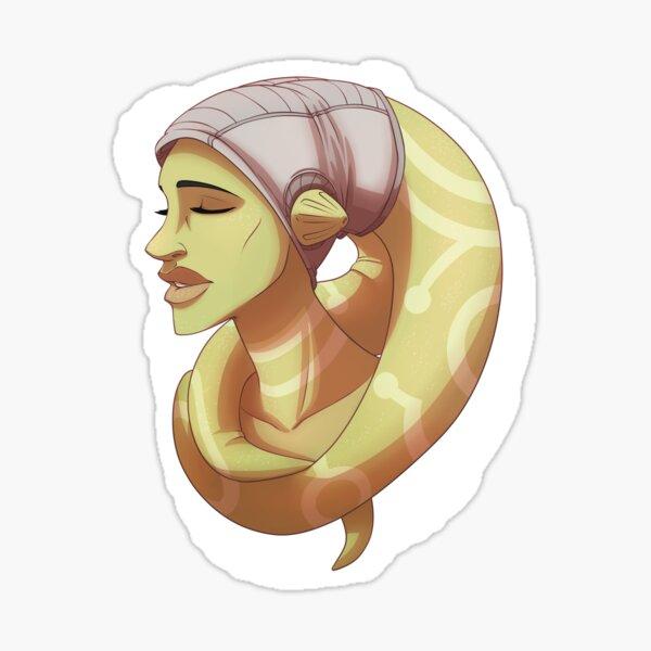 Hera Bust Sticker