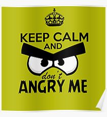 Don't Angry Me Poster