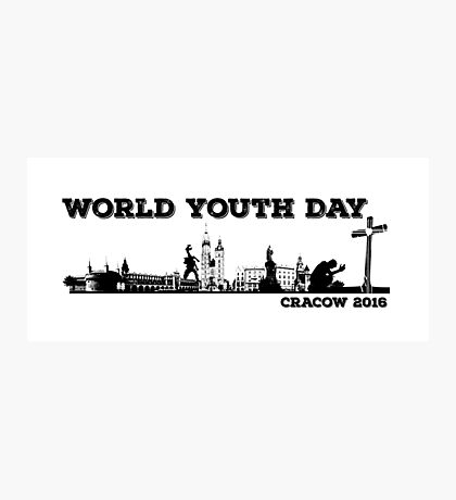 World Youth Day Cracow 2016 Photographic Print