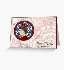 Spider-Parker Greeting Card