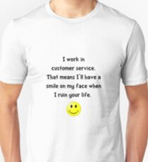 Customer Service Joke T-Shirt