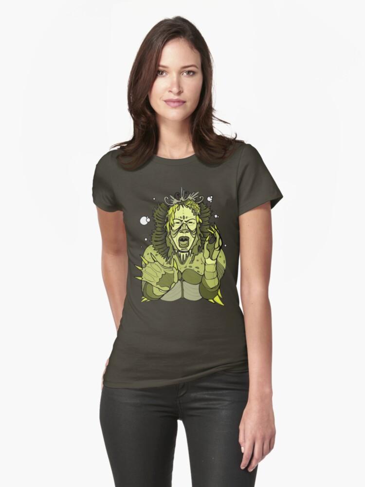 kaijin sea monster shirt by resonanteye
