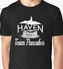 1cd187ed Haven Team Pancakes White Logo Graphic T-Shirt