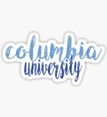 Columbia University Sticker
