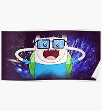Finn the spaceman Poster