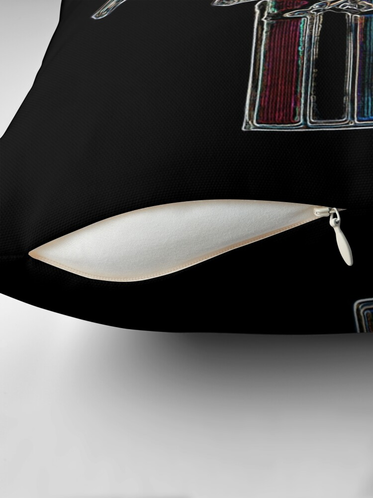 Vista alternativa de Cojín vado mustang, logo de color