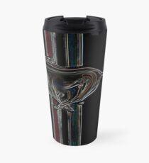 ford mustang, colored logo Travel Mug