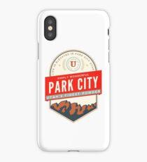 PARK CITY UTAH MOUNTAINS SKIING SKI SNOWBOARD iPhone Case/Skin