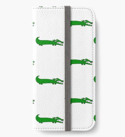 The croc iPhone Wallet