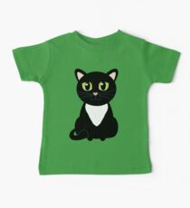 Only One Black and White Cat Baby Tee