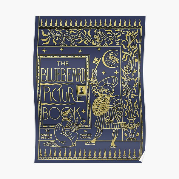The Bluebeard Picture Book Poster