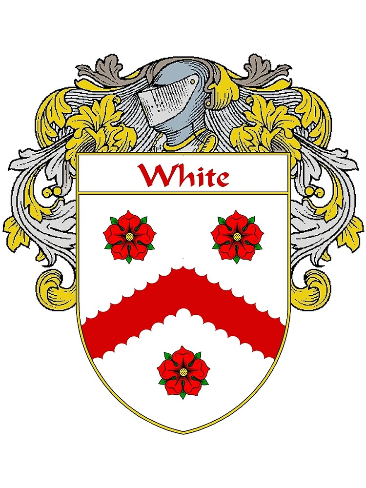 White Coat of Arms / White Family Crest by William Martin