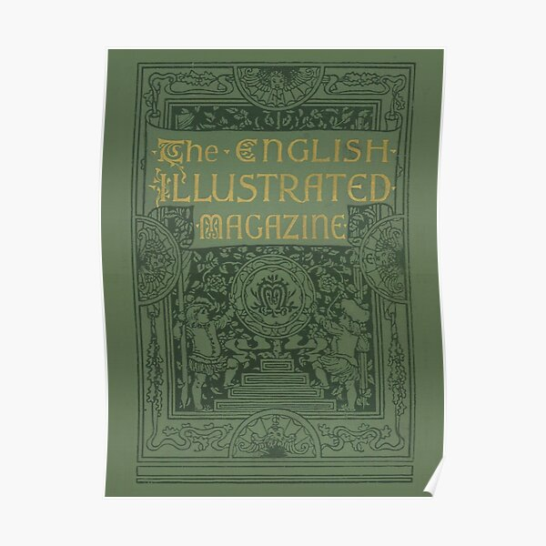 The English Illustrated Magazine Poster