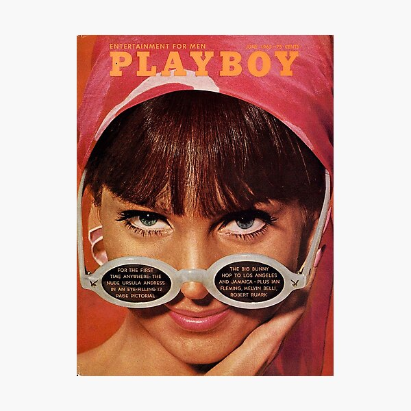 Vintage Playboy Covers Photographic Print