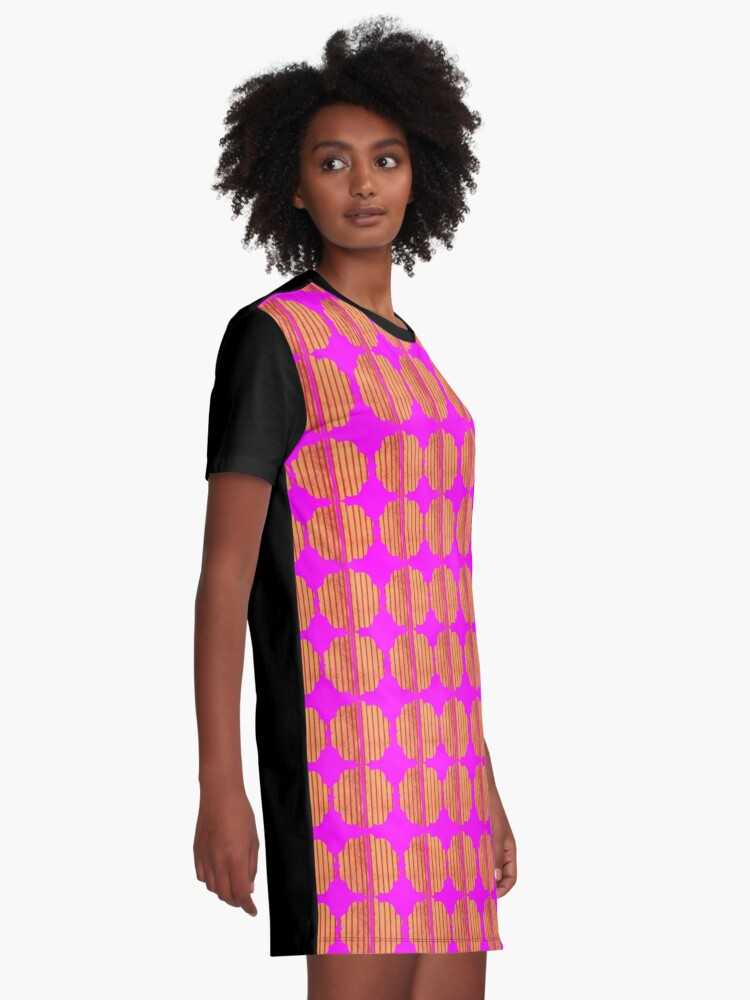 Alternate view of Ovid had some sense of style Graphic T-Shirt Dress