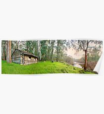 Kennedys Hut, Alpine National Park, Benambra, Victoria, Australia Poster