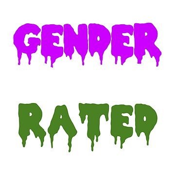 GENDER IS OVERRATED - genderqueer by ayries
