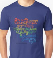 Chandler's diamond shoes are too tight! Unisex T-Shirt