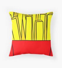 Happy FRY-Day! Throw Pillow