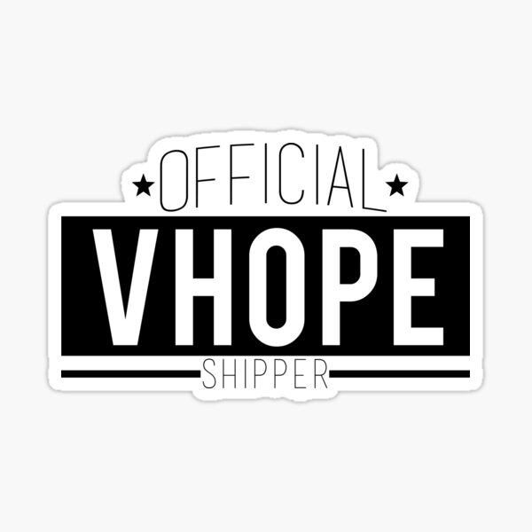 Official VHope Shipper Sticker