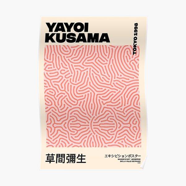 Ligne Pink Yayoi Kusama Poster