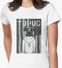 Tupug Shakur Womens Fitted T-Shirt