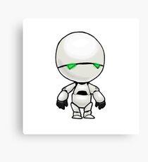 Freeze? I'm a robot. I'm not a refrigerator. Canvas Print