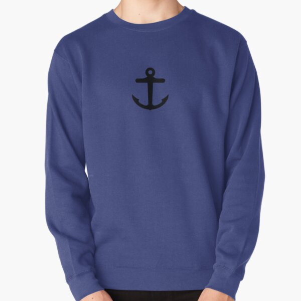 Nautical Anchor Pullover Sweatshirt