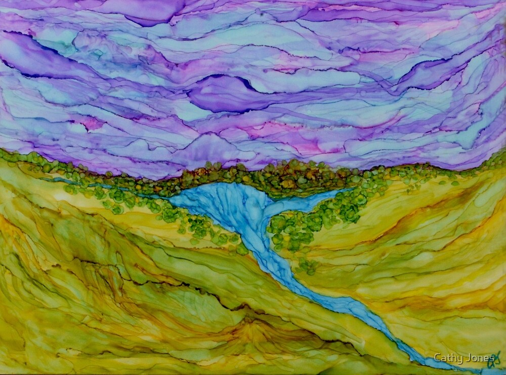 Canyon Lake by Cathy Jones