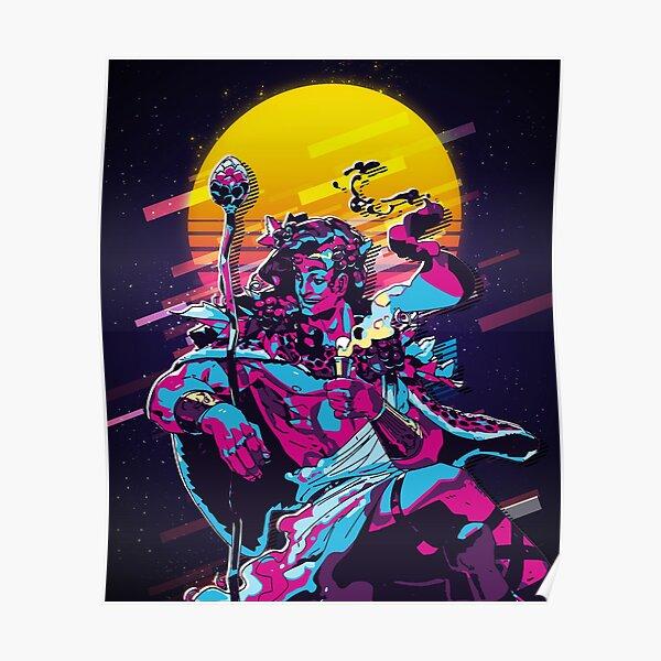Dionysus - Hades (80s Retro) Poster