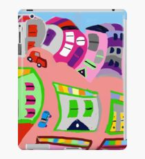 Happy Town by Roger Pickar, Goofy America iPad Case/Skin