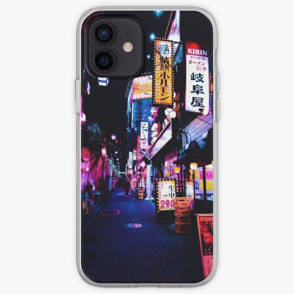 Neon Alley, Tokyo, Japan iPhone Soft Case