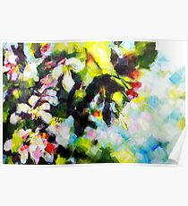 Tree Blossom Painting by Samuel Durkin Poster